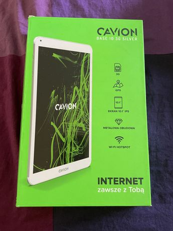 Tablet Cavion 10,1 biały 3 G Silver