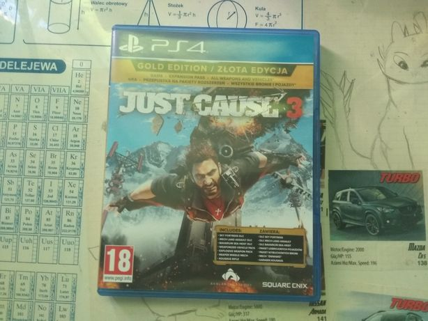 Gra Just cause 3 PS4 Uzywana