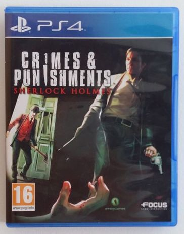 Jogo Crimes & Punishments: Sherlock Holmes PS4 - COMO NOVO