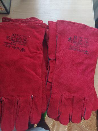 Краги сварочные, брезентовые рукавицы респираторы
