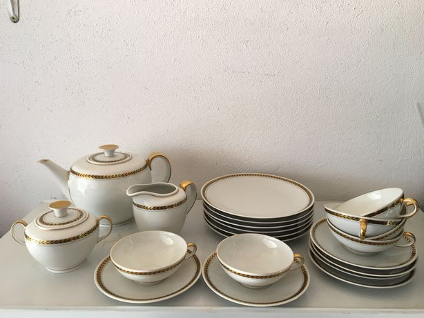 Zestaw porcelany Kaestner Saxonia
