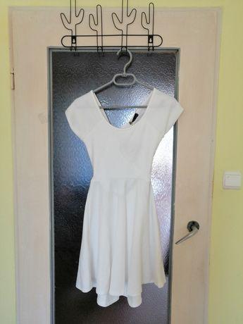 Nowa Sukienka Letnia Gołe Plecy S/36