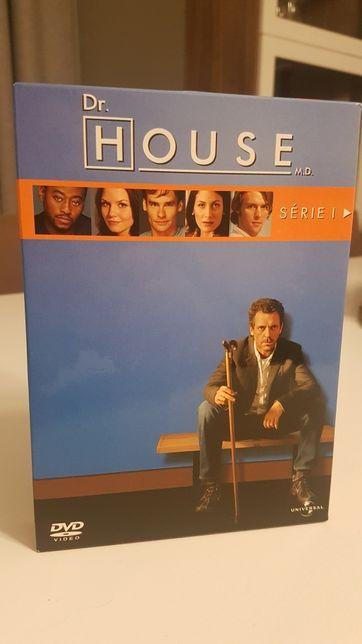 6 DvD's da Série 1 de Dr.House