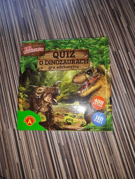 Gra quiz o dinozaurach
