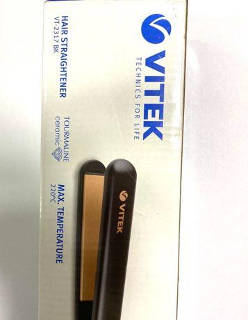 Щипцы утюжок для волос Vitek VT-2317 Black щипці для волосся випрямляч