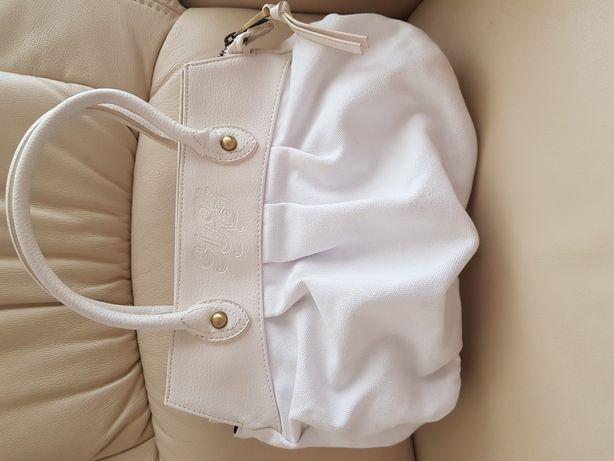 Przepiękna torebka Mango biala wersja limitowana