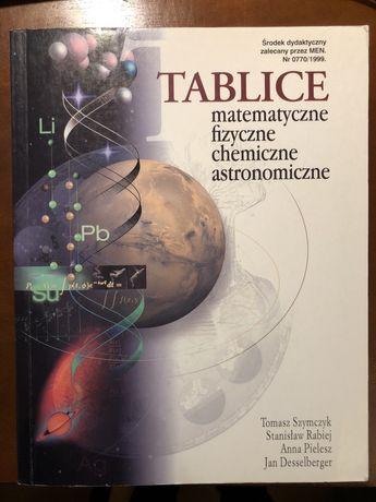 Tablice matematyczne, fizyczne, chemiczne , astronomiczne