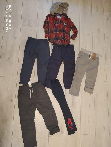 Paka spodni ocieplane  plus bluza 110