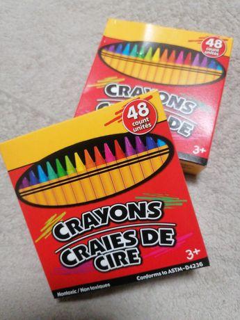 Crayons. Нетоксичные восковые карандаши