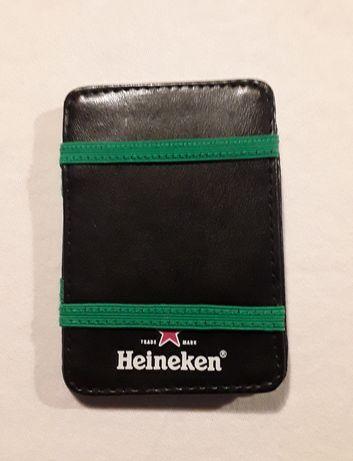 Carteira/Porta-cartões da Heineken, novo!
