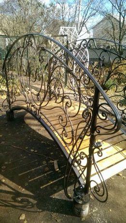 Мостик декоративный для сада,перила,навесы,заборы