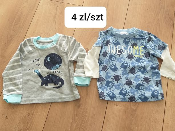 Koszulki chłopiec różne  rozmiary