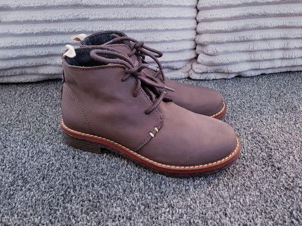 Botki chłopięce ZARA footwear 31 brązowe