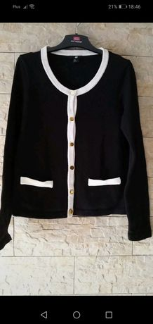 Sweter rozpinany xl HM
