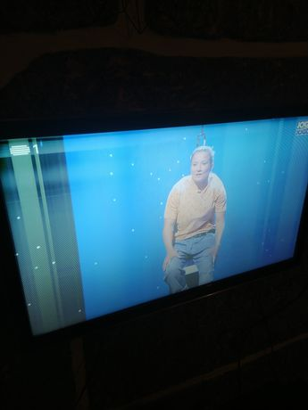 TV LCD Samsung com problema na imagem mas dá pa ver