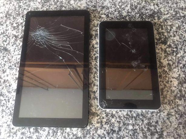 Vendo tablets para peças