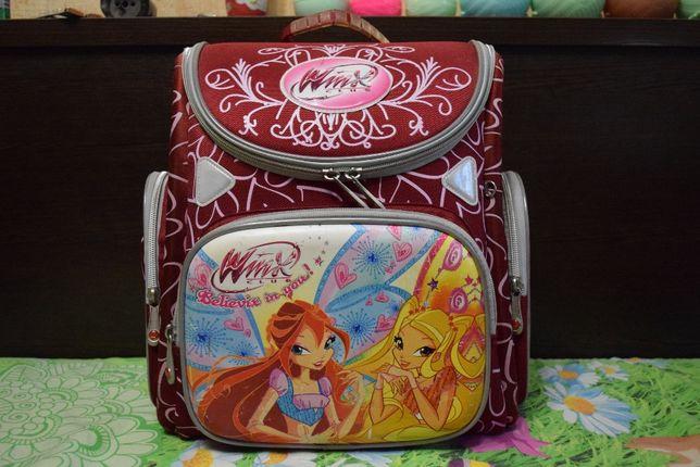 школьный каркасный рюкзак, ранец с ортопедической спинкой
