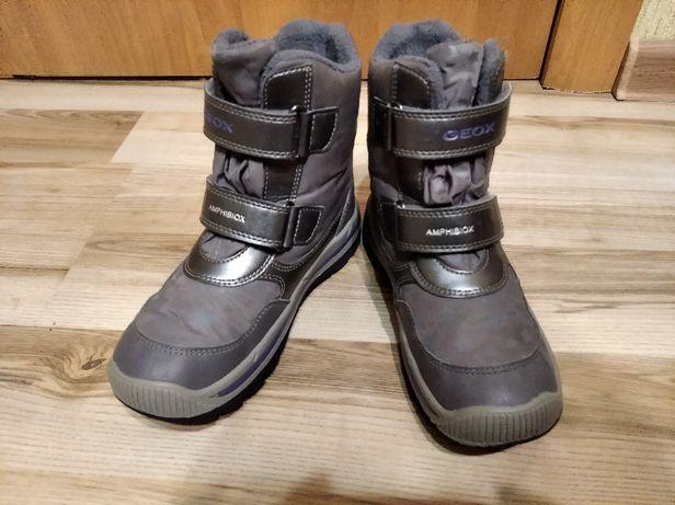 Ботинки,сапоги зимние geox amphibiox 31 размер.
