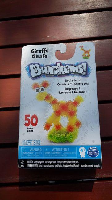 Bunchems kolorowe rzepy 50 szt żyrafa
