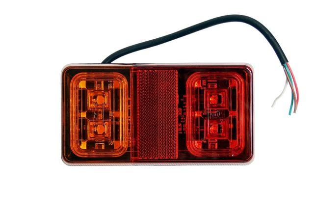 Lampa zespolona tylna LED DIODOWA przyczepy laweta 12/24V NOWA!