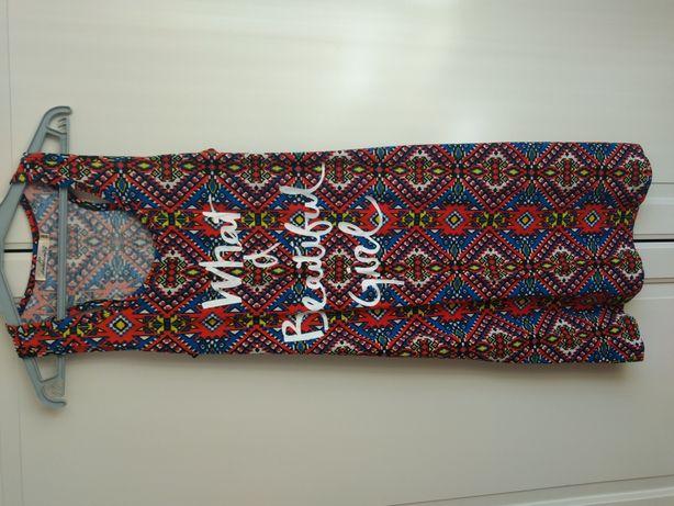Sukienka Aztecki wzór S