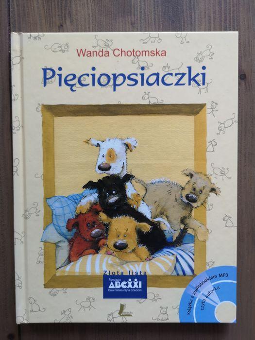 """Książka Wandy Chotomskiej pt. """"Pięciopsiaczki"""". Zabrze - image 1"""