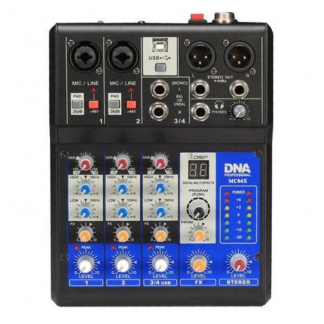 DNA MC04X analogowy mikser audio z procesorem DSP
