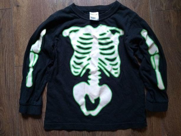 Kostium szkielet świecący w ciemności Halloween przebranie strój