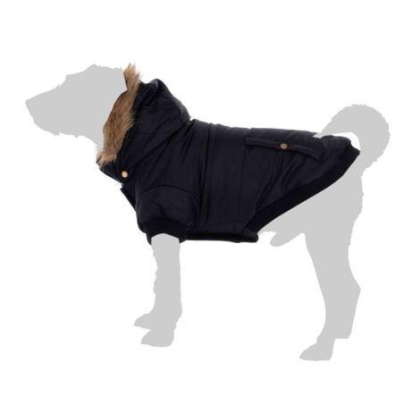 Ubranko / pikowana kurtka dla psa Milan NOWA odpinany kaptur