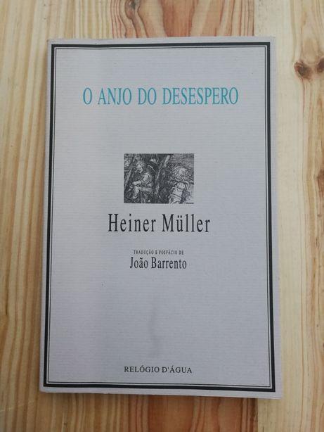 o anjo do desespero, heiner müller, relógio d`água