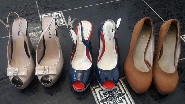 туфли, босонижки