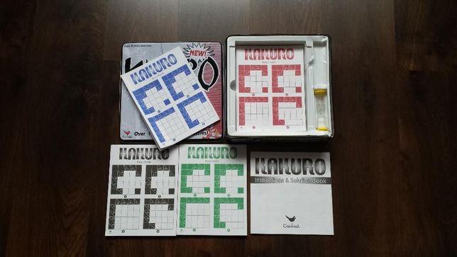Kakuro numeryczna krzyżówka (gra planszowa typu sudoku ?).