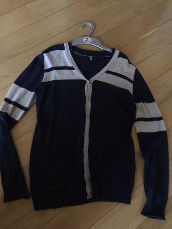 Benetton школьная кофта, свитер , 2XL.