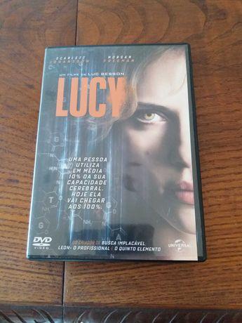 DVD Filme Lucy rigorosamente novo