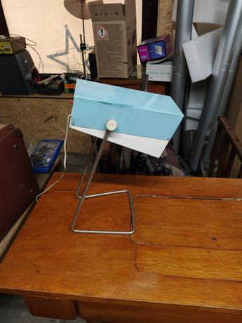 Stara zabytkowa lampka warsztatową biurowa Zans St-6 prl antyk vintage