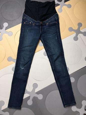 Spodnie ciążowe h&m mama 36 s jeansowe jak nowe