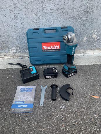 Аккумуляторная болгарка(асинхронный двигатель) MAKITA DGA540,24v,5.0Аh