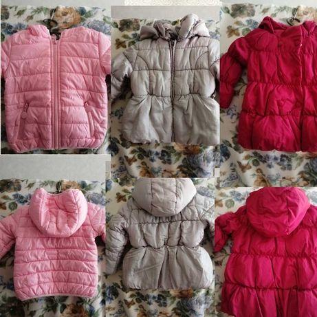 Куртки детские для девочки 3-5 лет и др. Одежда
