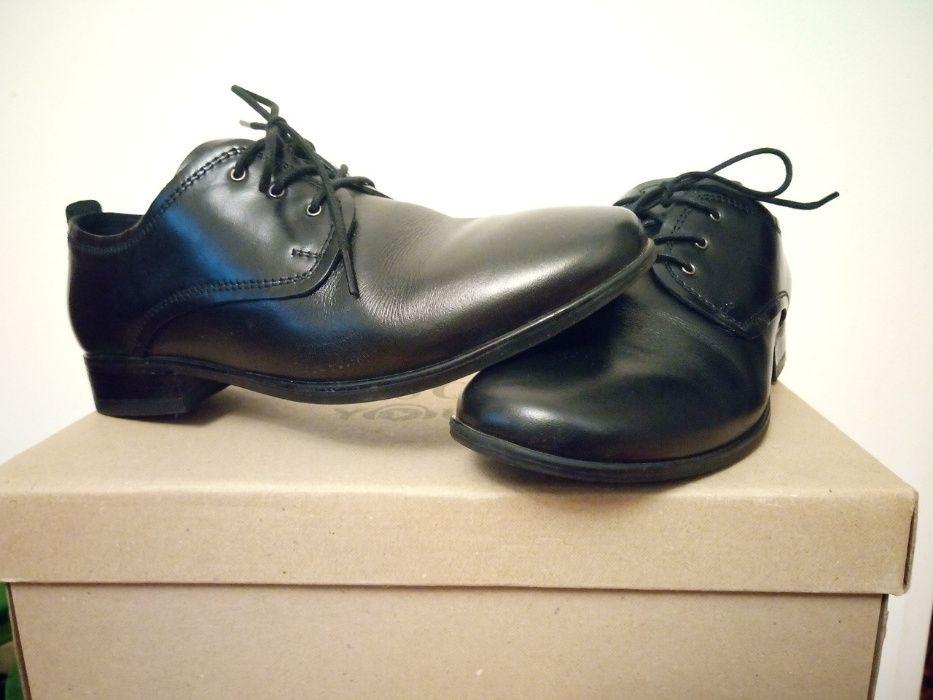 pantofle dla chłopca Lasocki, komunia, rozm. 35, skórzane Siedlce - image 1