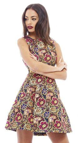 Платье нарядное М-ка плотное Ax Paris