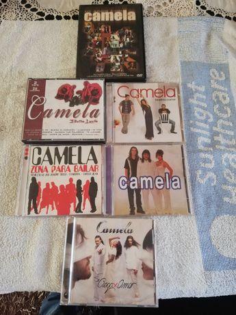 Vários CDs +dvd CAMELA