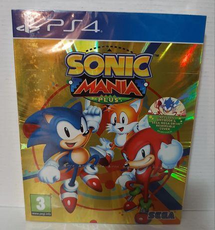 Sonic mania plus selado ps4