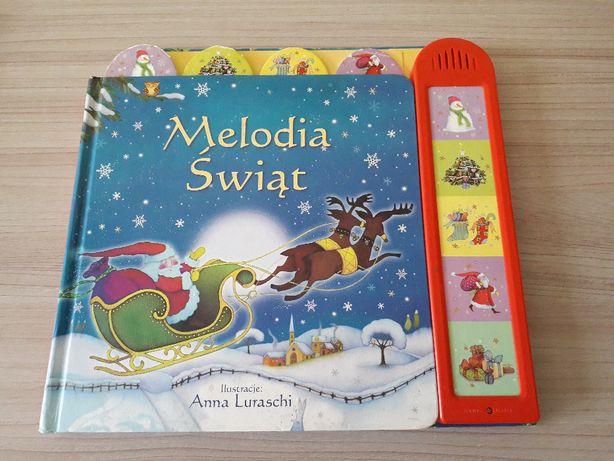 Książka dźwiękowa Melodia Świąt