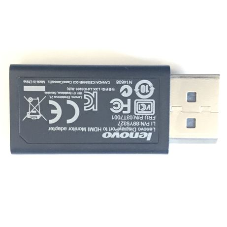 Lenovo 03T7001 Display Port to HDMI A/V Adapter