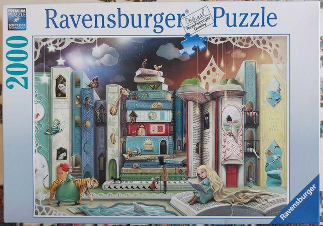 Puzzle 2000 Ravensburger Ulica książek 1000