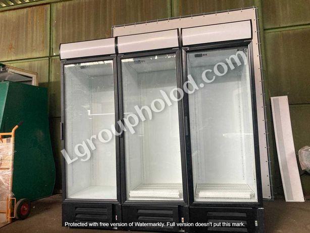 Холодильный шкаф, стеклянный для напитков бу. Большой выбор.