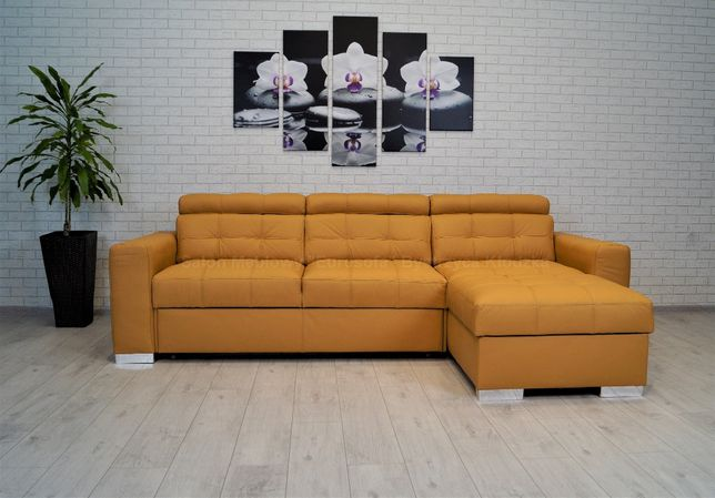 Narożnik skóra naturalna 270x167, sofa rogówka skórzana, różne!