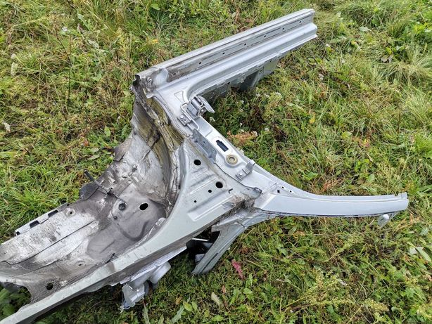 Ćwiartka Fartuch Podłużnica Prawa Audi A3 8P Cabrio Lx7w