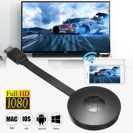 Airplay Dongle espelho smartphone para televisão HDMI WIFI NOVO