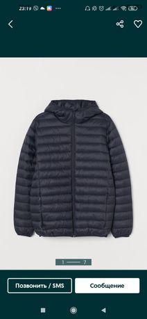 Куртка эко-пух, мужская, еврозима H&M